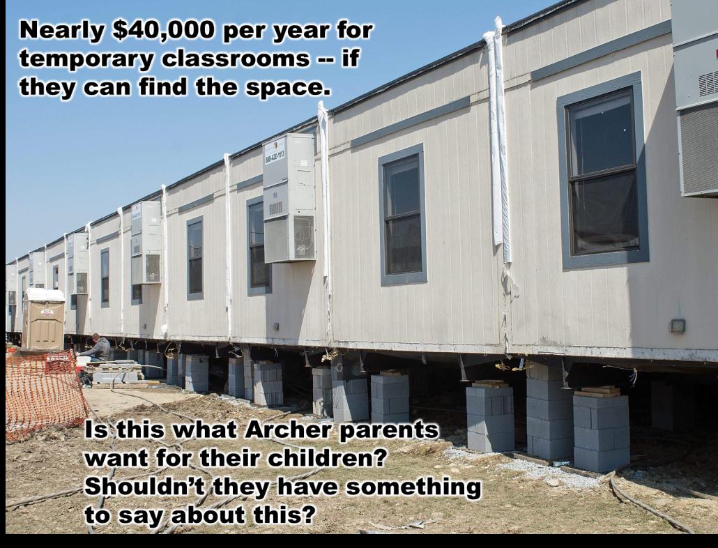 0  Archer temp classrooms
